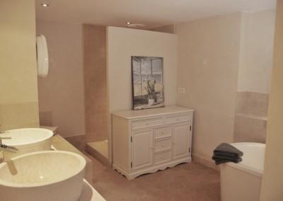 salle de bain du gite la casa bella