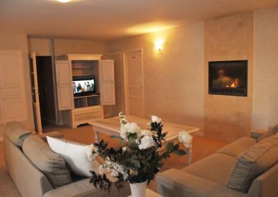 salon cheminée télévision casa bella