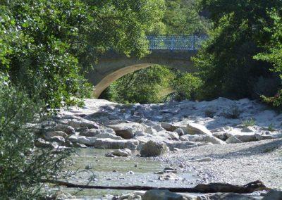 les gorges du Toulourenc près de Nyons