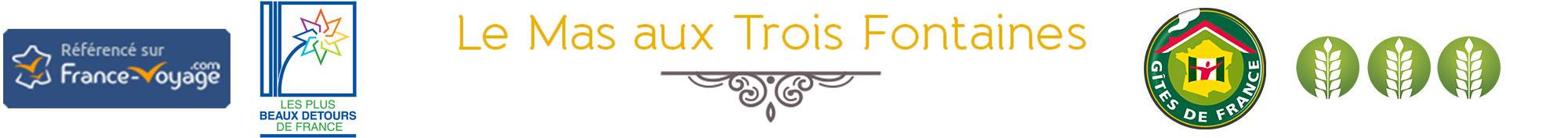 Le Mas aux Trois Fontaines gîtes chic et charme à Nyons