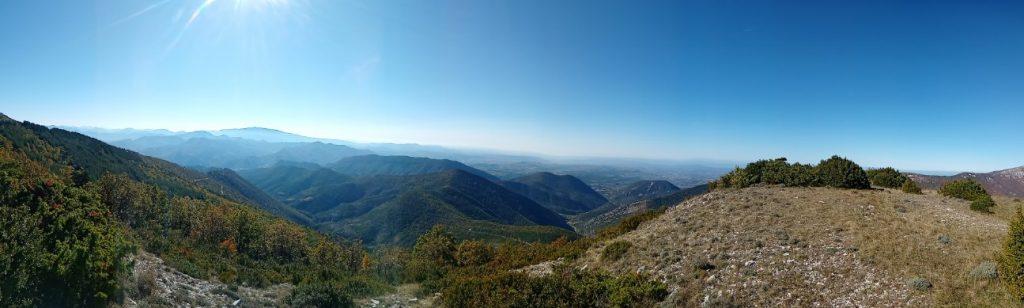 vue du sommet du cougoir