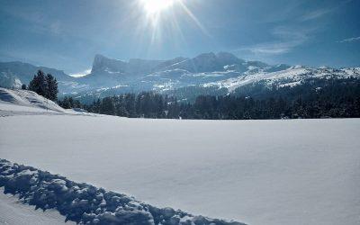 Une journée à la neige