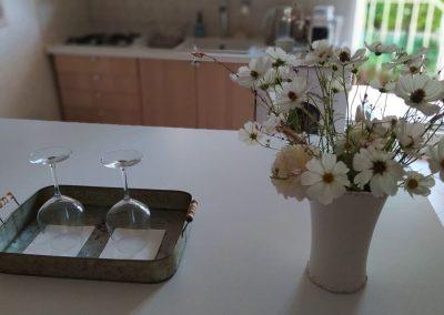 accueil et bienvenue bouquet maison